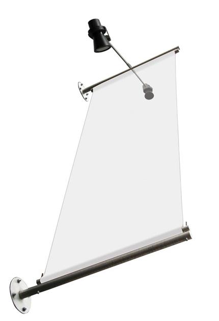 Elegant-væg-banner-flag-hængende