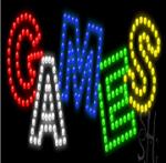 GamesLEDSkilt